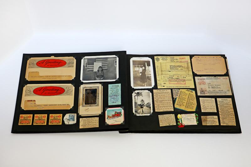1941 Scrapbook Pages 4-5