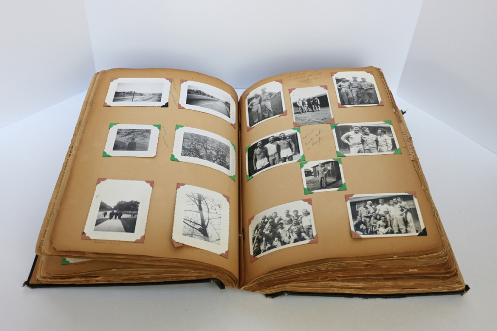 1944 WWII Scrapbook Pages 52-53