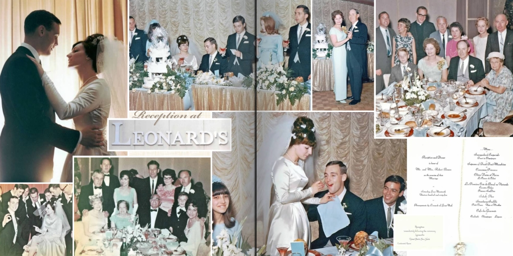 50th Wedding Anniversary Photo Book Pages 12-13