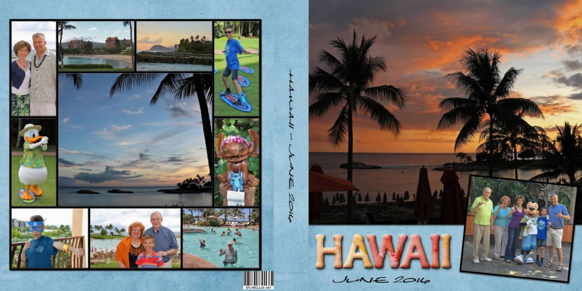 Vacation Photo Book Cover