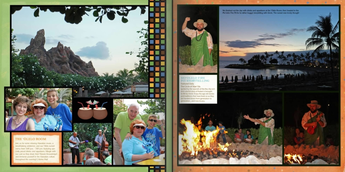 Vacation Photo Book Pages 22-23